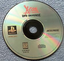 PS1 Playstation 1 - X-COM UFO Defense - game disc only - tested, working