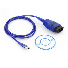 *VAGCOM USB KKL Cable For AUDI Volkswagen OBD2 OBDII Car Diagnostic Scanner*WT