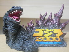 Unpainted Godzilla 2000 Bust Resin model kit Gamera monster ultraman
