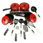 New Kids Play Toy Kitchen Utensils Pots Pans Cooking Dishes Cookware
