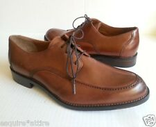 Johnston & Murphy men size 8.5 brown leather dress shoes NEW no box