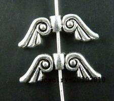 70pcs Tibetan Silver Angell Wing Spacers 20x7.5mm 1000