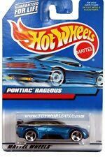 2000 Hot Wheels #119 Pontiac Rageous china base clear roof