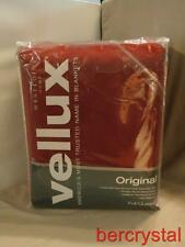 "West Point Vellux Rio Red Full Queen Blanket(s) New in Package 90"" by 90"""