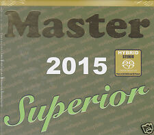 """Master Superior Audiophile 2015"" Master Music Stereo Hybrid SACD New Sealed"