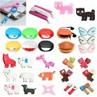 Cute Automantic Cable Headphone Earphone Cord Wire Holder Winder Wrap Organizer