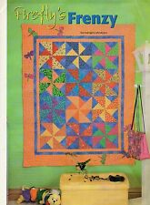 Firefly's Frenzy Quilt Pattern Pieced/Applique JD