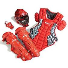 Junior Catcher's Gear Pack - SCARLET - Ages 5-8