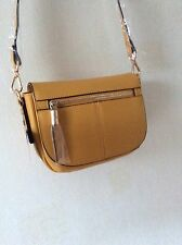 MONSOON ACCESSORIZE KATIE ZIP FRONT SADDLE   ACROSS BODY BAG HAND BAG Reduced