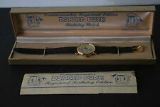 New Donald Duck Commemorative Registered Edition Birthday Watch