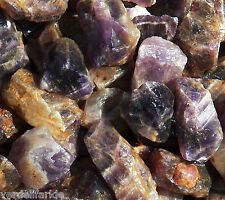 1/2 LB BANDED AMETHYST  Rough Rock for Tumbling Tumbler Stones 1100+ CARATS