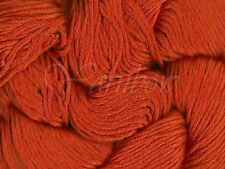 Mirasol ::Illaris #109:: 100% Glossed Pima Cotton yarn Tangerine