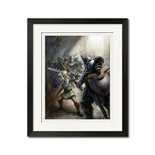 The Legend of Zelda Twilight Princess Poster Print