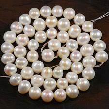 7-8mm White Saltwater Akoya Pearl Loose Beads 15''