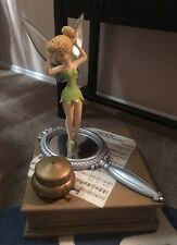 "RARE Huge Disney World 26"" Tinkerbell Fairy Peter Pan Big  Fig & Music Box"