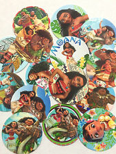 "60 Moana 1"" inch Precut Bottle Cap Images for DIY Projects Bows FREE SHIPPING"