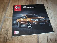 Catalogue / Brochure NISSAN NP300 Navara 2015 / 2016  //