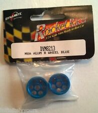NEW Dynamite DYN8213 NYA Aluminum Rear Wheels Blue: Mini-RR