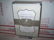 Great Papers! Taupe Scroll Frame Invitation and Response card kit- 50 pack