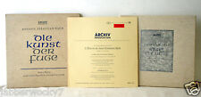 Lot of ARCHIV PRODUKTION 33 RPM Johann Sebastian Bach 198197
