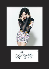 ELIZA DOOLITTLE #1 A5 Signed Mounted Photo Print - FREE DELIVERY