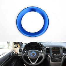Interior Blue Steering Wheel Cover Ring Decoration For Grand Cherokee Cherokee