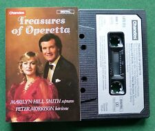 Treasures of Operetta Marilyn Hill Smith Peter Morrison Cassette Tape TESTED