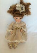 Collectors Choice Porcelain Doll By Dandee. Plays Music
