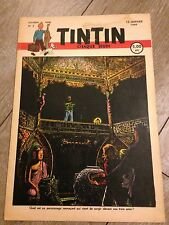 journal tintin Belge 2 (1949) couverture CUVELIER RARE