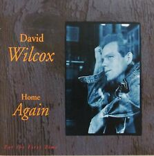 David Wilcox - Home Again 1991 (Hole Punch Cutout in Bar code)(Promotional
