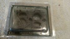 "NcStar Pair 30mm & 1"" Rings for Weaver Rail Scope Mount RB04 New in Package"
