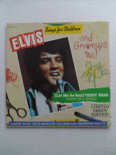 Elvis Presley-Let Me Be Teddy Bear/Puppet...-With Picture Sleeve-RCA 11320-MINT.