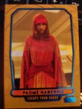 Star Wars 2012 Galactic Files 2 #377 Padme Naberrie BLUE 160/350 Mint
