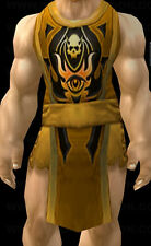TABARD OF DEFENDER - ORANGE - WOW LOOT - WORLD OF WARCRAFT