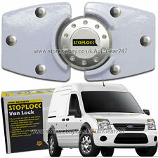 White Stoplock For Ford Transit Connect High Security Anti Theft Van Door Lock