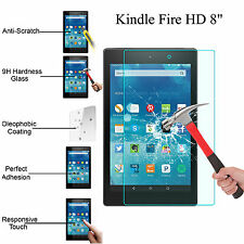 Tempered Glass Screen Protector For Amazon Kindle Fire HD 8 2016 Tablet