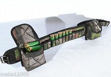 44 pcs 12 gauge  Shotgun shell belt  bandolier cartridge ammo holder 2 pockets
