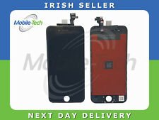 IPHONE 6 BLACK LCD TOUCH SCREEN DISPLAY DIGITIZER GLASS ASSEMBLY WITH FRAME