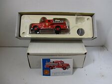 1/50 SCALE CORGI SEAGRAVE ANNIVERSARY PUMPER TAMPA, FLORIDA FIRE ENGINE *DAMAGED