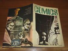 FANZINE DI FUMETTI COMICS NUMERO 45 DEL DICEMBRE 1977 GUIDO VENTURA