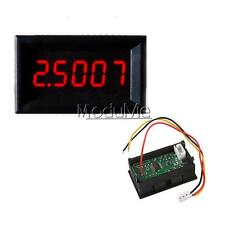 Red LED 5 Digit DC 0-4.3000-33.000V Digital Voltmeter Voltage Meter Car Panel MO
