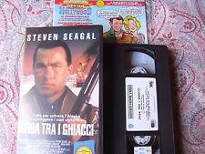 """VHS WARNER """"GLI SCUDI """"  """"SFIDA TRA I GHIACCI""""  CON STEVEN SEAGAL"""