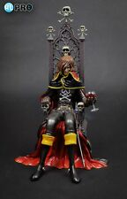 High Dream HL Pro Captain Harlock on Arcadia Throne PVC Statue 32cm Nuovo New