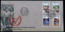 Singapore Stamps First Day Cover FDC -1981 International Year of Disabled Person