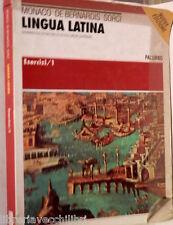LINGUA LATINA Esercizi 1 Monaco De Bernardis Sorci Palumbo Grammatica Scuola di