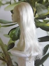 "WHITE BLONDE ONE PIECE HAIR EXTENSION 25"" LONG 150 GRAMS IN WEIGHT #60"