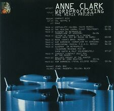 Anne Clark – Wordprocessing (The Remix Project), CD, Electro