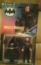 Vintage 1990 Bruce Wayne Batman Action Figure - Kenner  New In Box As Is