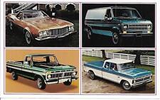 Ford Advertising Postcard - 1974 Ford Light Trucks