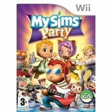 "NINTENDO Wii GAME ""MY SIMS PARTY""   ALL COMPLETE"
